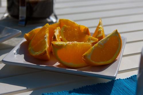 i ate soo many oranges this weekend