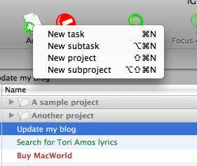 igtd mac based to do list