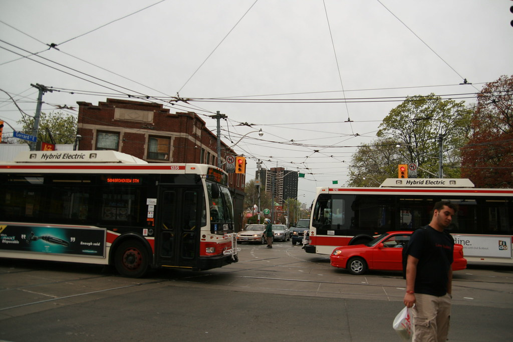 Hybrid Electric Buses in Toronto