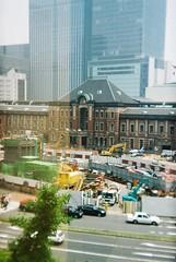 More Tokyo Station (spaceturnip) Tags: kodak holga135 kodacolor400