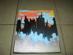 cityscape #23 (Putup or shutup) Tags: new works putup artputup canvassputup