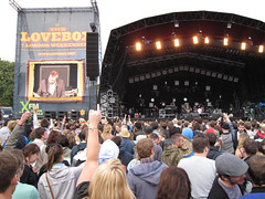Lovebox Weekender (russelljsmith) Tags: uk friends england music london festival fun happy concert victoriapark europe gig crowd drinks enjoy drunks 2009 lovebox loveboxweekender 77285mm loveboxweekender2009 lovebox2009 lastfm:event=861454