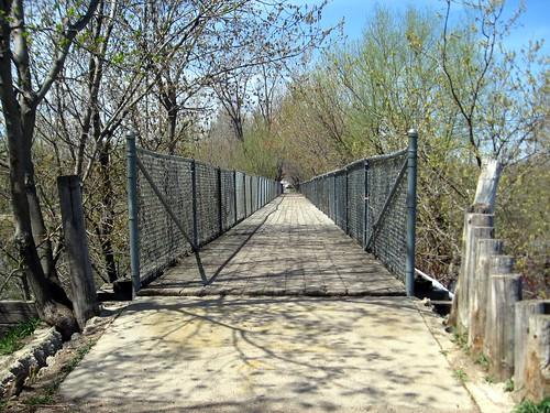 bridge over the sioux river