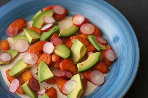carrot avocado salad 3