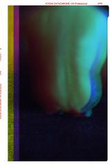 Por la espalda // From behind (Curro Rodrguez Visual Artist) Tags: selfportrait male ego nude back 3d kodak espalda autorretrato rgb hombre desnudo