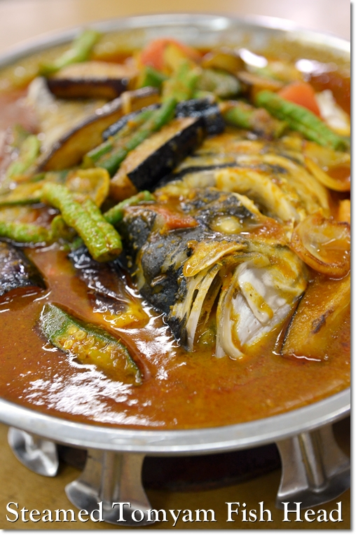 Steamed Tomyam Fish Head