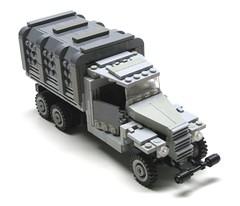 GM 2.5 ton (psiaki) Tags: truck gm lego wwii 25 ton moc