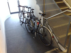 Cycle parking at WBS