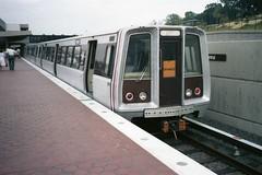 Orange Line at Vienna (Andy961) Tags: vienna subway virginia metro va metrorail wmata washingtonmetro