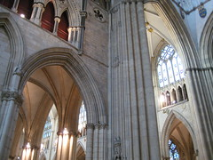 Saturday - York Minster Cathedral (chicgeekuk) Tags: york uk windows laura tourism church architecture worship cathedral unitedkingdom stonework arches stainedglass tourist yorkminster patty minster kishimoto laurakishimoto laurakishimotoca insideyorkminster