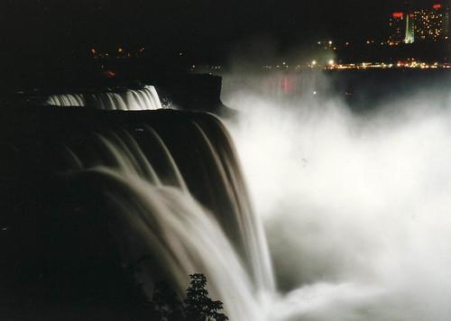 An Evening at Niagara Falls