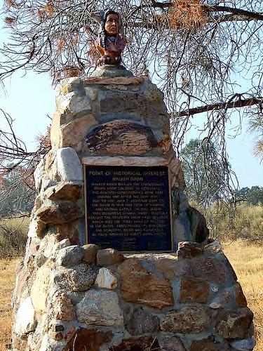 Cowboy Memorial Plaque