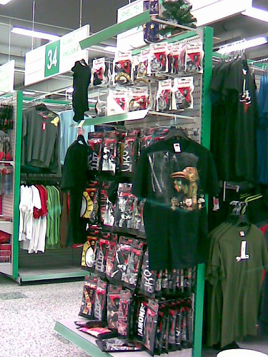Band t-shirts from family supermarket chain