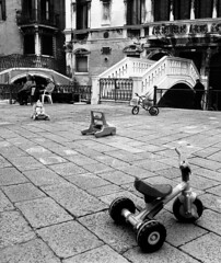 Gondoliers and Tricycles