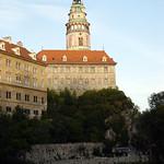 Cesky Krumlov: State Castle and Vltava River