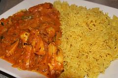 Chicken Balti & Rice from Suruchi Too, Edinburgh