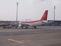 Airplane in Turkey
