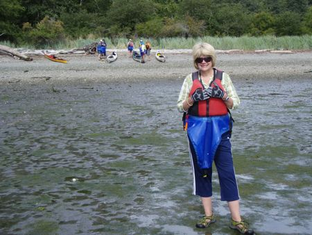 Sue on Stuart Island