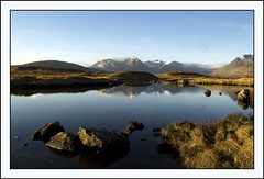 Scottish Blue (Magdalen Green Photography) Tags: blue mountains scotland cool rocks scottish calm glencoe remote lochan