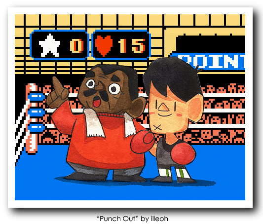 Punch Out Art