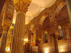 Heavenly gold (sorgun68) Tags: church italia palermo sicilia rui blueribbonwinner mozaics golddragon mywinners anawesomeshot colorphotoaward goldstaraward
