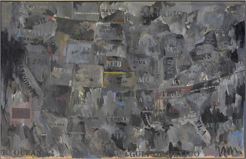 """Jasper Johns - """"Map"""" 1962.11.jpg"""