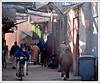 Way in Medina (L▲iv ©) Tags: africa travel red 2 people 3 sahara colors tag3 way square photography 1 photo women flickr tag2 colours photographer tag1 shot minaret tag muslim ivan rosa el mosque unesco morocco 09 maroc marocco marrakech medina afrika 2008 marruecos rosso colori ghetto viaggio occidentale souq في 08 koutoubia afrique المدينة fna lazzari mosquita jemaa marocchino djemaa laiv مراكش golddragon abigfave nikond80 aplusphoto ultimateshot diamondclassphotographer laivphoto المنوره الطريقة 130108 marrākiš 31°38′07″n8°00′01″w316352788000278coordinate31°38′07″n8°00′01″w316352788000278