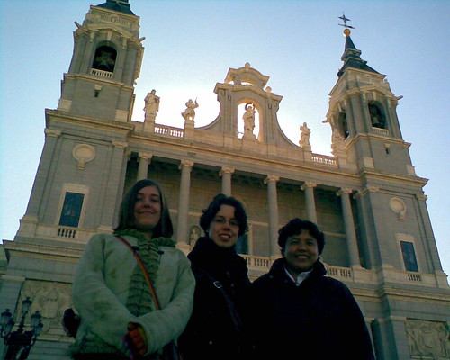 In Madrid, by the palace