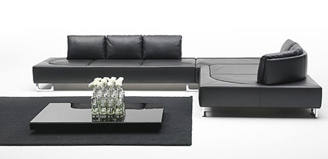 Contemporary Leather Sofa Design from De Sede | Home Trends | Decoration | Gardening :  contemporary leather home sofa