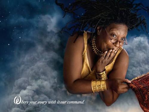 Annie Leibovitz's Disney Dream Portrait Series - Genie