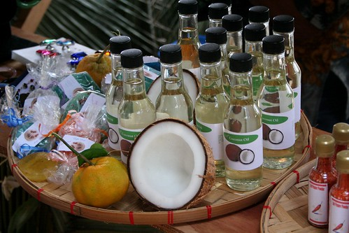 Tinian coconut oil