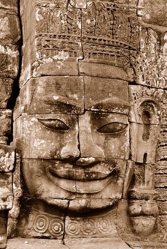 Angkor smile
