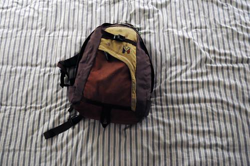 travelling packing luggage backpack bags ziplock