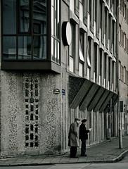 A country for old men (gothicburg) Tags: street reflection göteborg sweden candid ant gothenburg sverige oldmen rosenlund nikond80 adventskyrkan