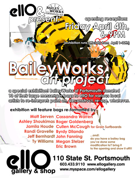 BaileyWorks Project flier