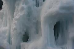 Ice windows (GhostSwann) Tags: alps alpi valgardena