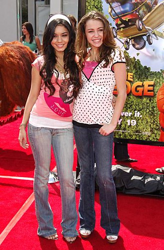 Hannah Montana - miley cyrus and vanessa anne hudgens by j_anne061310.
