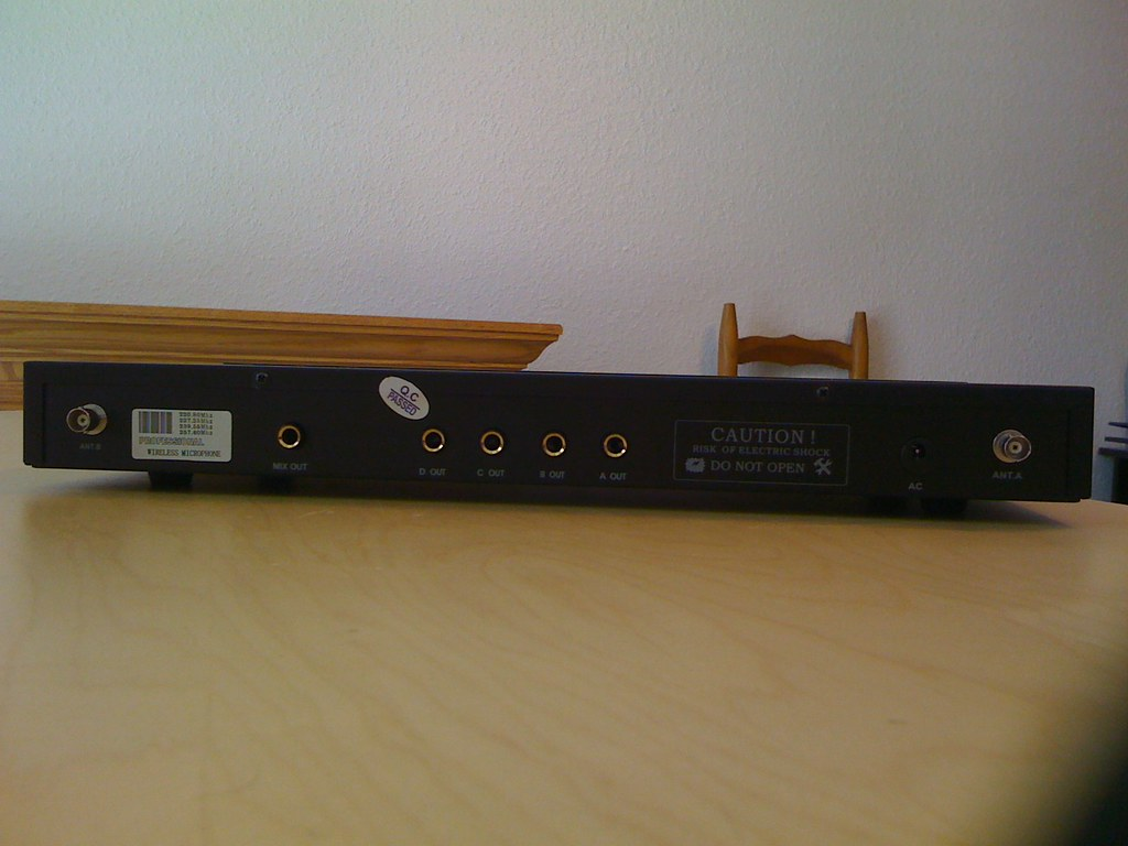 Hisonic HS8100 Receiver (Back)