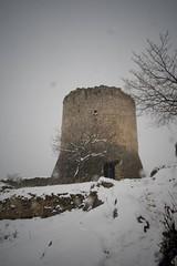 City Of Ruins (micheylal2) Tags: friends snow cold tower easter ruins torre neve bianco freddo abruzzo medioevo rovine ortonadeimarsi