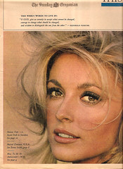 Sharon Tate - The Sunday Oregonian (1966) (sheruinsyou) Tags: vintage 1966 1960s magazines memorabilia sharontate sarahscollection