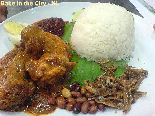 UC - nasi lemak RM5.50