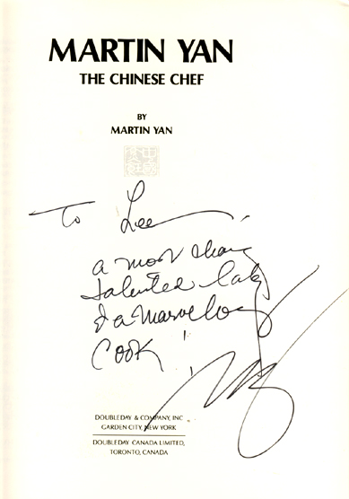 martin yans biography essay In-studio recipes include vietnamese rice-paper rolls, spicy-creamy nonya   martin honors his mother's birthday with a banquet in toronto and samples some  of.