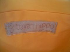 bayan hippo handmade..