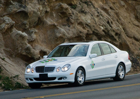 Solazyme Algae powered Mercedes Benz driven at Sundance Film Festival