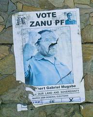 Vote ZANU PF