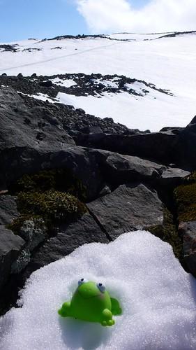 J3: FrogZ sur le glacier Mýrdalsjökull