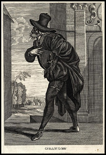 Guillot. Goriv (comic actor) (about 1680)