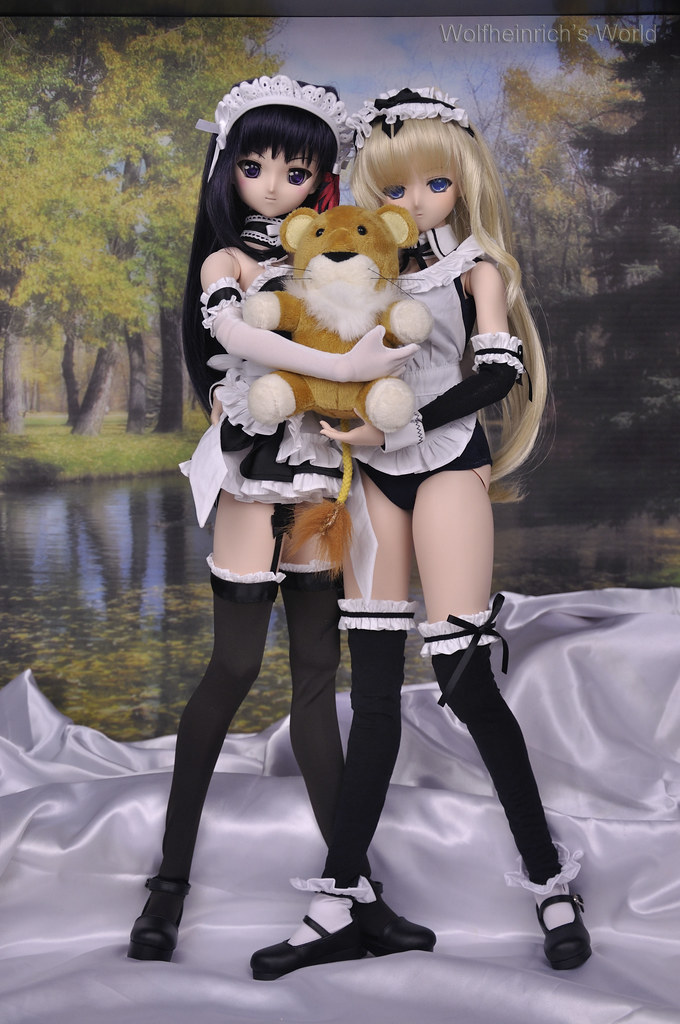Dollfie Dream Kiriha Sasara Maid Dress