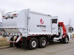 Wayne Curbtender CCC Demo 1 (Wayne Engineering) Tags: trash ccc waste refuse garbagetruck curbtender cranecarrier wayneengineering automatedsideloader