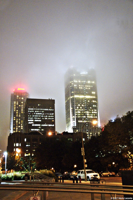 Montreal aglow